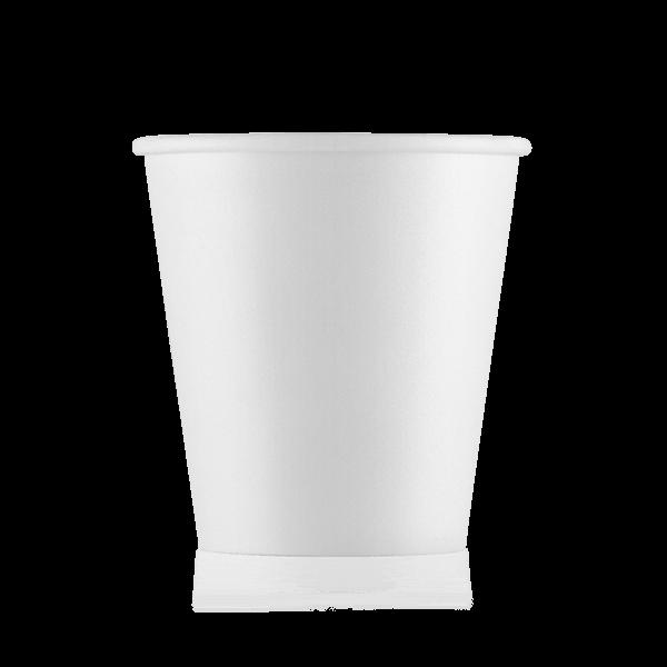 Стакан бумажный белый 110 мл