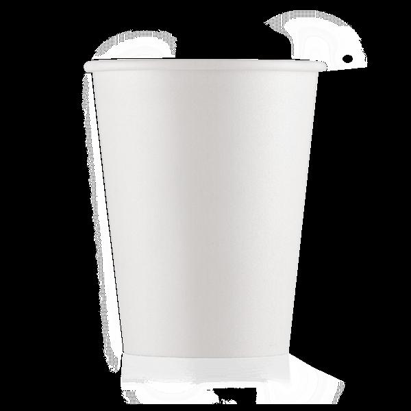 Стакан бумажный белый 165 мл