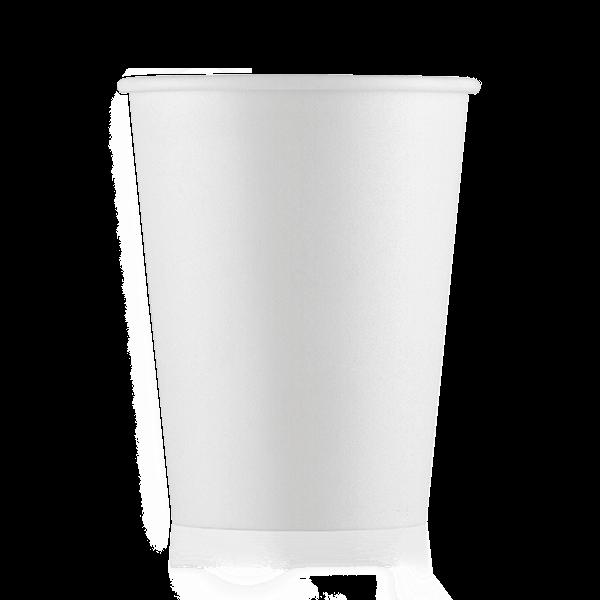 Стакан бумажный белый 250 мл