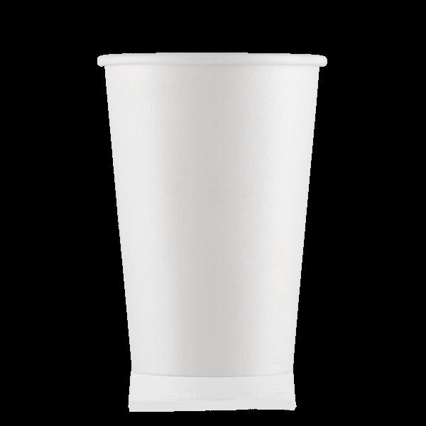 Стакан бумажный белый  400 мл