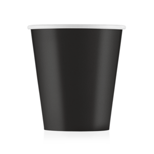 Стакан бумажный чёрный 175 мл