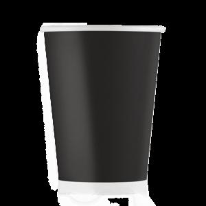 Стакан бумажный чёрный 250 мл