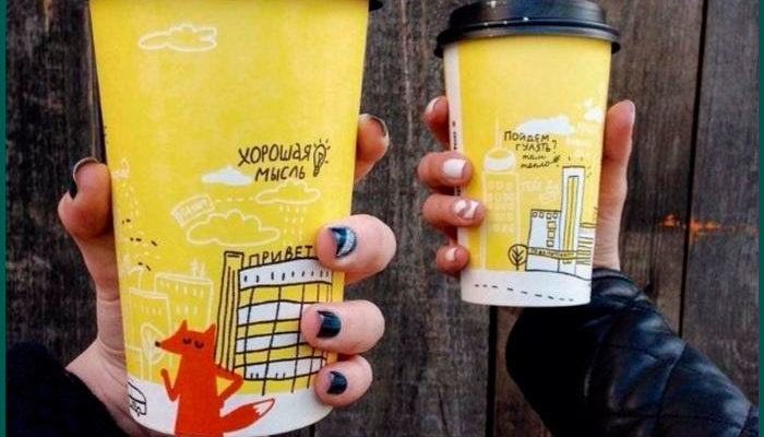 Психология цвета: каким должен быть стаканчик в кофейне