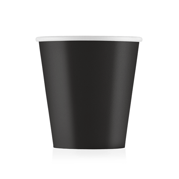 Стакан бумажный черный 110 мл