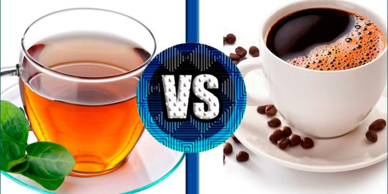 Кофе или чай – где больше кофеина